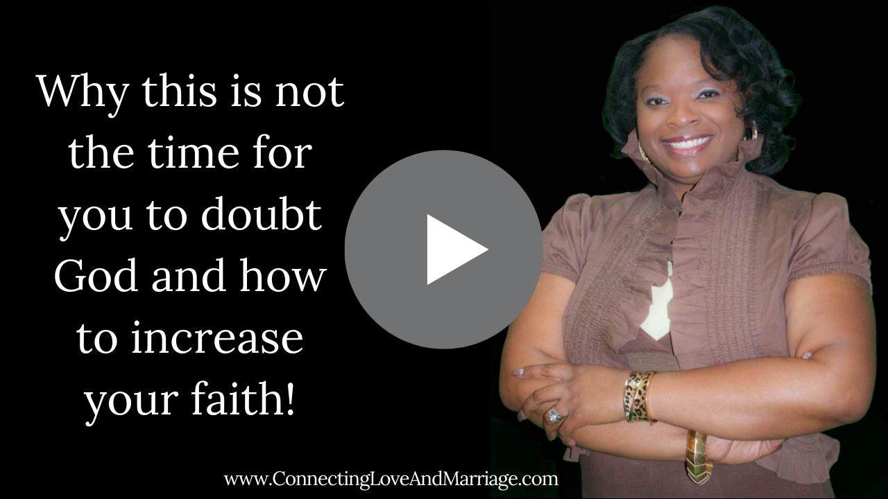 increase your faith.